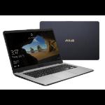 "ASUS K505ZA-BQ677T Grey,Metallic Notebook 39.6 cm (15.6"") 1920 x 1080 pixels 2 GHz AMD Ryzen 5 2500U"