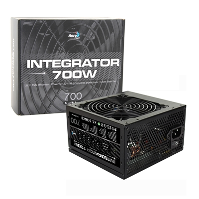 Aerocool Integrator 700W 120mm Silent Fan 80 PLUS Certified PSU
