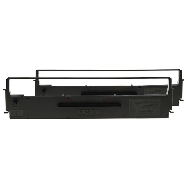 Epson C13S015646 (7753) Nylon black, 2500K characters, Pack qty 2