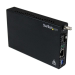 StarTech.com Gigabit Ethernet Fiber Media Converter with Open SFP Slot