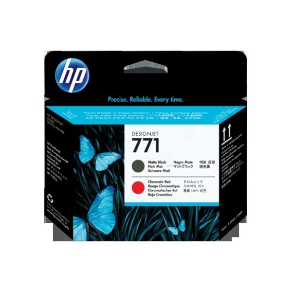 HP CE017A (771) Printhead black matt, 775ml