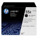 HP 55X Original Negro 2 pieza(s)