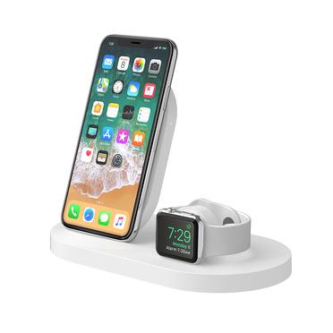 Belkin F8J235MYWHT mobile device dock station Smartwatch/Smartphone White