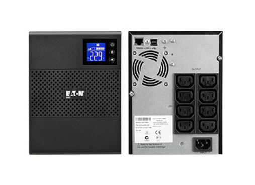 Eaton 5SC1500i 1500VA 8AC outlet(s) Tower Black uninterruptible power supply (UPS)