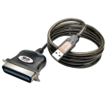 Tripp Lite U206-010 printer cable Black