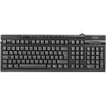 Hama AK-220 Multimedia USB Keyboard - Black (73011288)
