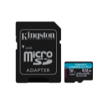 Kingston Technology Canvas Go! Plus flashgeheugen 512 GB MicroSD Klasse 10 UHS-I
