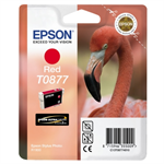 Epson C13T08774010 (T0877) Ink cartridge red, 915 pages, 11ml