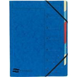 Exacompta 54072E Blue folder