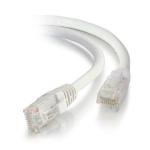 C2G 0.5m Cat5E UTP LSZH Network Patch Cable - White