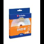 Verbatim 97957 4.7GB DVD-R 10pcs Read/Write DVD