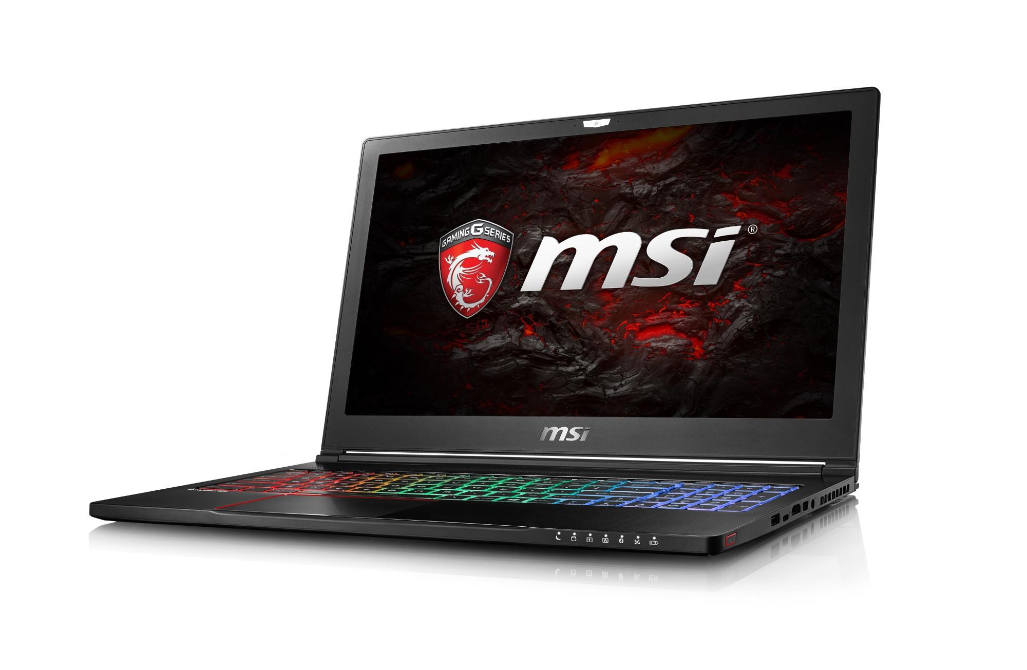 Gs63 7rd 091uk Stealth Pro - 15.6in - i7 7700hq - 8GB Ram - 128GB SSD - 1TB HDD - Win10 Home - Black - Qwerty Uk