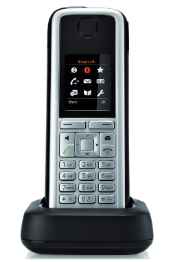 Unify OpenStage M3 handsets DECT telephone Caller ID Black,Silver