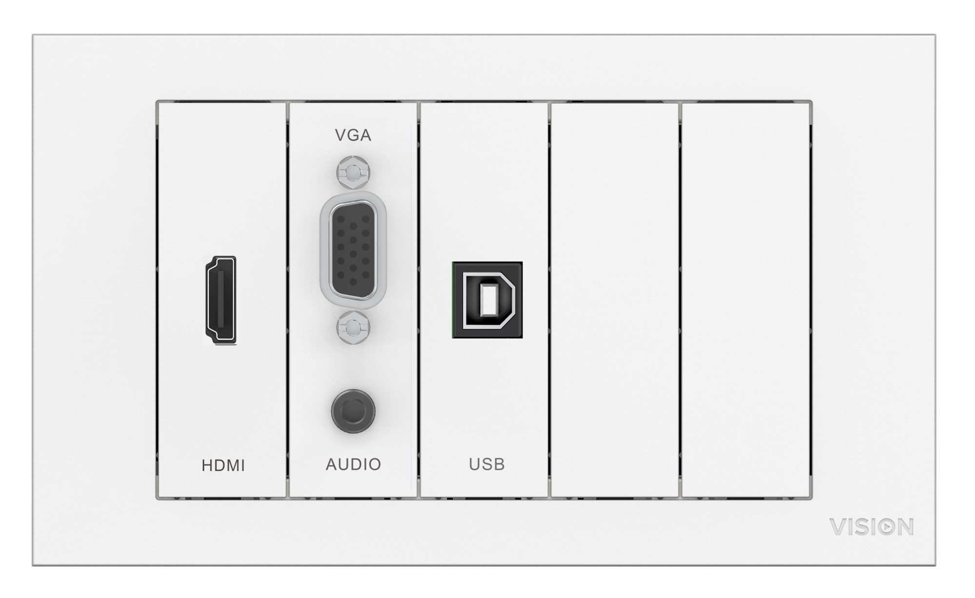 V3 Module Package Includes Mounting Hardware Uk Double-gang Backbox Uk Double-g