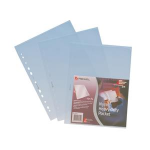 Rexel Nyrex™ Heavy Duty Top & Side Opening Pockets (25) filing pocket