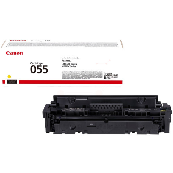 Canon 3013C002 (055) Toner yellow, 2.1K pages