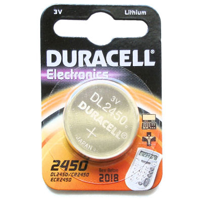 Duracell DL2450 household battery Single-use battery Lithium 3 V