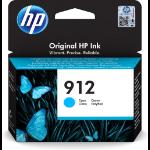 HP 3YL77AE (912) Ink cartridge cyan, 315 pages, 3ml