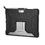 "Urban Armor Gear Metropolis 25,4 cm (10"") Hoes Zwart, Zilver"