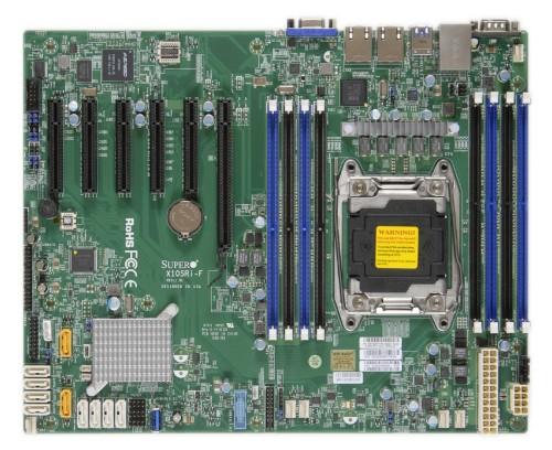 Supermicro X10SRi-F server/workstation motherboard LGA 2011 (Socket R) Intel® C612 ATX