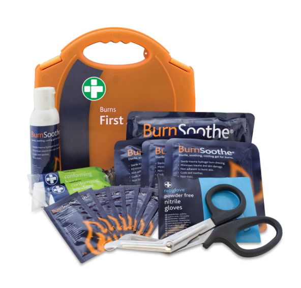 Reliance Medical Reliance Burns Aid Kit Standard in Aura Carry box