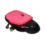 Port Designs 901705 Mouse Pouch EVA (Ethylene Vinyl Acetate),Neoprene,Velvet Pink peripheral device case