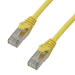 MCL 1m Cat6a F/UTP cable de red F/UTP (FTP) Amarillo