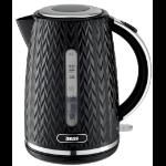 Zanussi ZEK-1350-BK electric kettle 1.7 L 3000 W Black
