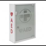 Reliance Medical AED Metal Wall Cabinet (UNALARMED) Glass Door Lockable DD