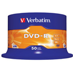 Verbatim DVD-R Matt Silver 4.7 GB 50 pc(s)