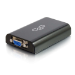 C2G 81930 adaptador de cable USB 3.0 Micro-B HD15 Negro