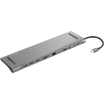Sandberg USB-C 10-in-1 Docking Station