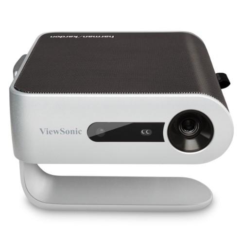 Viewsonic M1+ data projector 300 ANSI lumens DLP WVGA (854x480) Portable projector Black,Silver