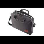 """Fujitsu Casual Entry Case 16 15.6"""" Briefcase Black,Red"""