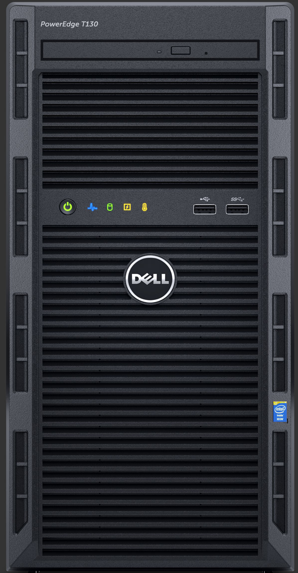 DELL PowerEdge T130 3GHz E3-1220V6 290W Mini Tower server