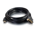 C2G 42515 1.5m HDMI DVI-D Black video cable adapter