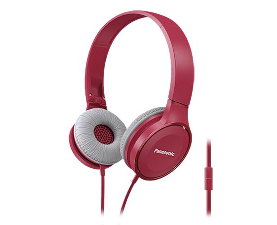 Panasonic RP-HF100ME Binaural Head-band Pink headset
