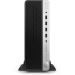 HP EliteDesk 705 G4 3.4GHz 2600 SFF AMD Ryzen 5 Black, Silver PC