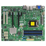 Supermicro X11SAE-F server/workstation motherboard LGA 1151 (Socket H4) ATX Intel® C236