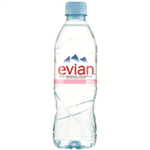 Evian Natural Spring Water 500ml (24 Pack) A0103912