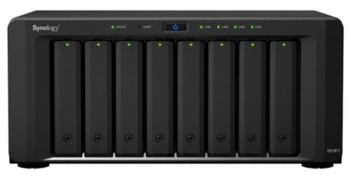 Synology DiskStation DS1817 NAS/storage server Ethernet LAN Desktop Black