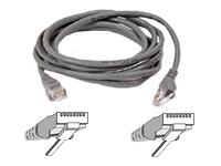 Belkin Patch Cable CAT5 RJ45 snagl grey 30m cable de red Gris