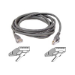 Belkin Patch Cable CAT5 RJ45 snagl grey 30m cable de red Gris
