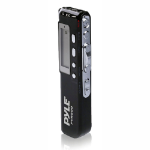 Pyle PVR200 Internal memory Black dictaphone