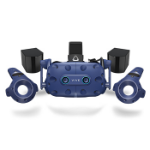 DELL VIVE Pro Eye Dedicated head mounted display Black, Blue