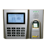 Wasp WaspTime Pro Biometric Solution Silver security access control system