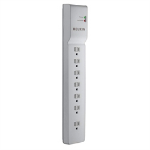 """Belkin BE107000-07-CM surge protector 7 AC outlet(s) 83.9"""" (2.13 m) White"""