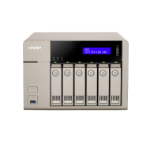 QNAP TVS-663-4G 36TB (Seagate IronWolf Pro) 6 bay desktop NAS; AMD 2.4 GHz Quad Core; 4GB DDR3L RAM (max