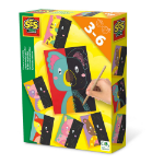 SES Creative Children's I Learn to Scratch, Unisex, Three to Six Years, Multi-colour (14625)