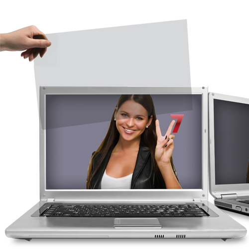 "V7 18.5"" Privacy Filter for desktop and notebook monitors 16:9"